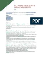 Prácticas Del Laboratorio de Química de La Universidad Panamericana