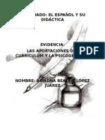 DIPLOMADO Curriculum y Psicogénesis