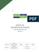 STB - MDP - GEN - 001 Manual de Descripcion de Puestos 2
