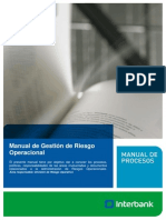 Manual de Gestion de Riesgo Operacional