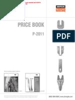 Simpson Price List
