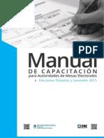 Manual Autoridad de Mesa CNE - versión desprotegida para imprimir