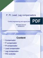 P, PI, Lead, Lag Compensators