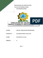 Informe Tanque Luis