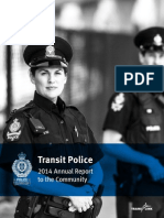 Transit Police 2014 Annual Report