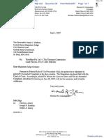 Timebase Pty Ltd v. Thomson Corporation, The - Document No. 30
