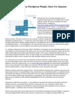 Wpassociate Amazon Wordpress Plugin