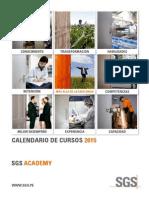 SGS SGSAcademy CalendariodeCursos A4 ES 15 V4