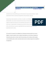 Control y Reducción de Costos Mediante El Control Estadístic