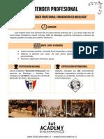 Programa Bartender Profesional