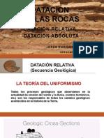 Datacion de Rocas