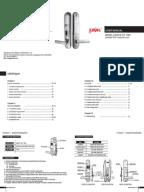Stanley K2 Doorware Lock Security Device Lever