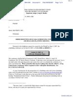 Ross v. AKAL Security, Inc. - Document No. 4