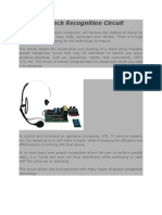 [Raja] DSP Project_Build a Speech Recognition Circuit