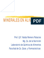 Clase Minerales