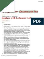 Baklava with Lebanese Coffee - Recipes - Poh's Kitchen.pdf