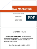 Political Marketing 1