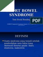 Short Bowel Syndrome-Sindrom Usus Pendek