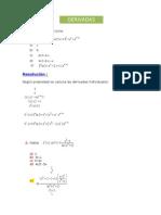 Actividad 3 Derivadas - Analisis Matematico 1