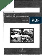Transporte Urbano Nos Países Em Desenvolvimento_Vasconcellos