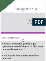 Elementos No Metales