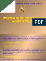 Estructura Proyecto Tesis Unmsm