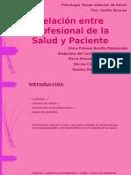 Relación Entre Profesional de La Salud y Paciente 1