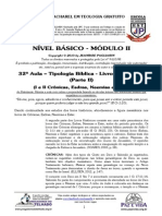 BÁSICO - Mód II - 32ª AULA - Tipologia Bíblica Nos Livros Históricos (Parte II)