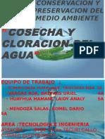 DIAPOSITIVAS DEL PROYECTO COSECHA Y CLORACION DEL AGUA 2014.ppsx