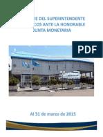 01 Informe a Marzo 2015