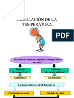 Regulacionde La Temperatura