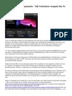 Het Webdesign Organisatie - Vijf Trefzekere Aanpak Om Te Falen