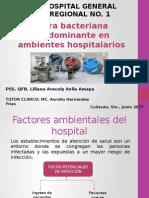 Flora bacteriana en Hospitales