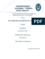 Analisis de Estdos Financieros