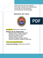 Estudio de Caso Deficiencia