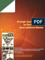 Strategy Focus Document for KSRLM - Jan 2014