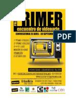 Encuentro Videoarte Palmira - Kit Informativo