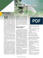 Managing Flood Problem in Malaysia