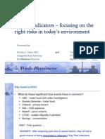 T4 - KRIs - Focusing on the Right Risks in Today_s Environment - RiskBusiness Americas (K. Gantt) Experis Finance (T. Diminich) 10-25-11.pdf