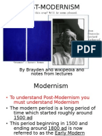 Postmodernism is Modern