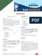 Solucionario San Marrcos 2014