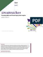 Grant Thornton Dealtracker April 2015 - Ibef