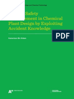 Process Safety Enhancement in Chemical Plant Design by Exploiting Accident Knowledge