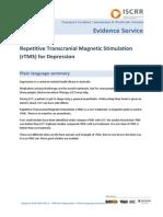 002 Repetitive Transcranial Magentic Stimulation rTMS for depression.pdf