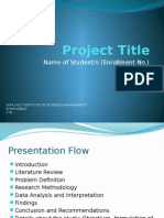 SIP Presentation Format