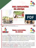 Casas Comunales de Abrigo venezuela