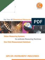 Vision Measuring Catalog