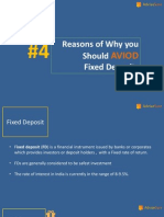3 Reasons Why You Should Avoid Fd