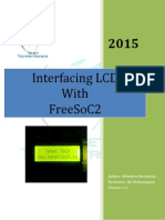 Interfacing LCD with FreeSoC2