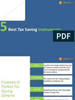 5 Best Tax Saving Instruments